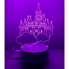 "Ночник 3D ""Замок"""