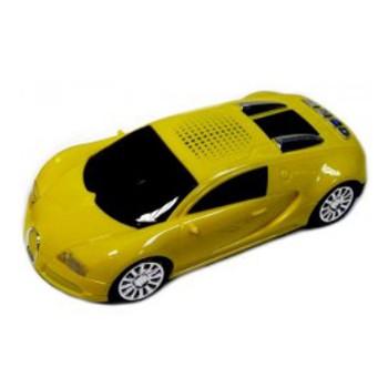 Портативная колонка wireless car speaker X6bt (желтый)
