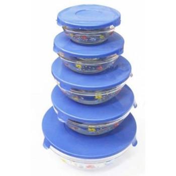 Набор пищевых контейнеров (стекло)