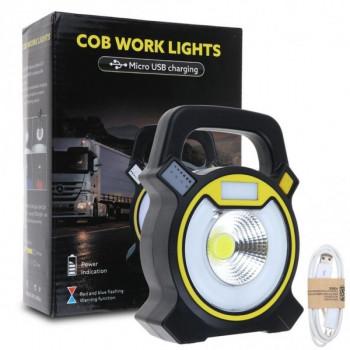 Садовый переносной и кемпинговый фонарь COB Work Light