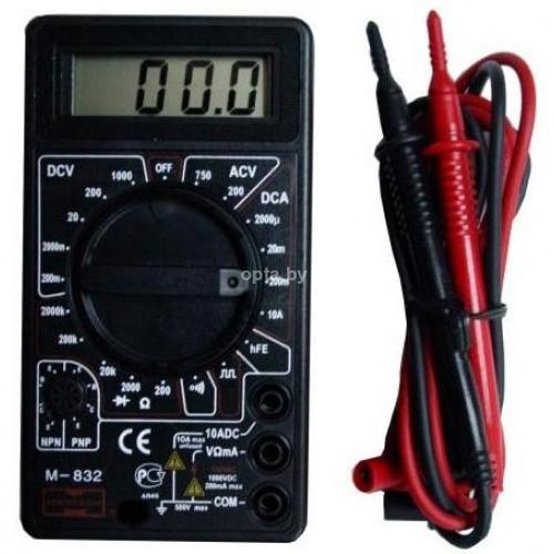 Мультиметр для проверки напряжения DT-838
