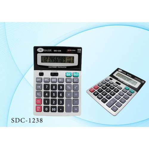 Калькулятор SDC-1238 ELECTRONIC CALCULATOR