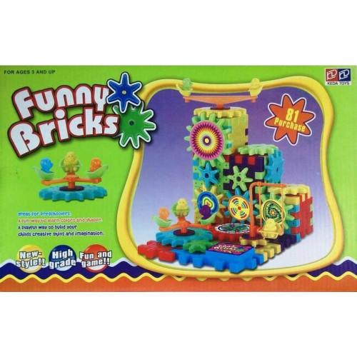 Конструктор Funny Bricks 81 деталь