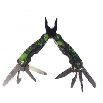 Многофункциональный нож с черепами