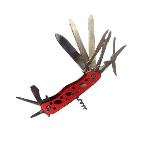 Многофункциональный нож Красный 11 в 1