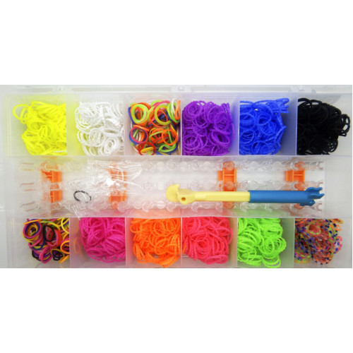Набор для плетения браслетов Friendship loom bands
