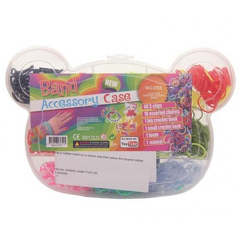 Набор для плетения браслетов (Мишка) Band acsessory case LB 7