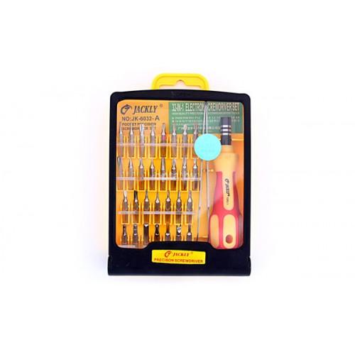 Отвёртка с комплектом насадок (32 шт) 6032