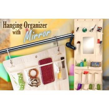 Органайзер для украшения с зеркалом Hanging Organizer With Mirror