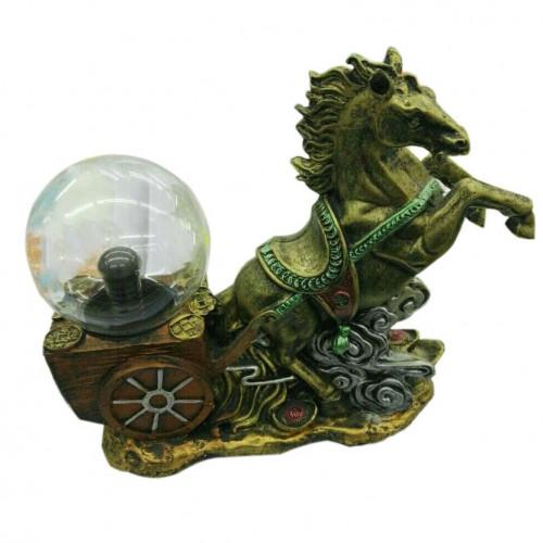 Плазменный шар «Конь с повозкой»