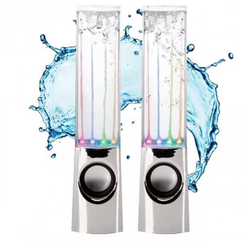 Колонки с водяной светомузыкой