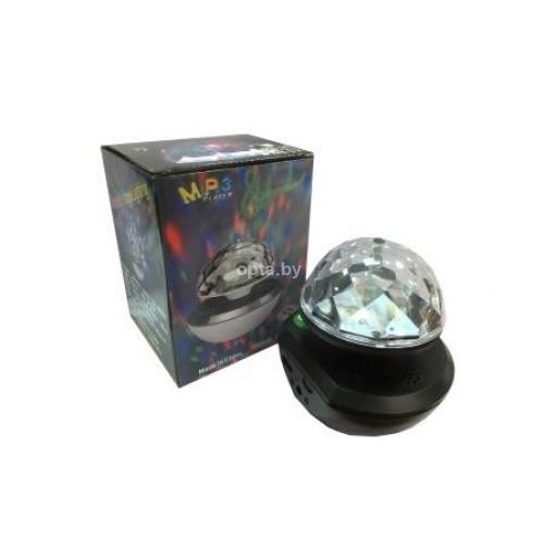 Вращающиеся диско-шар-плеер MAGIC BALL LIGHT MINI