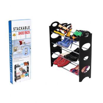 Органайзер для обуви Stackable Shoe Rack (4 полки)