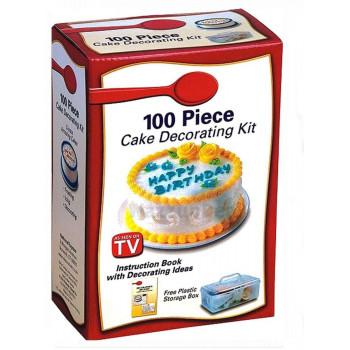Набор для декорации тортов и выпечки CAKE DECORATING KIT