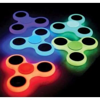 Спиннер прозрачный фосфорный Hand Spinner