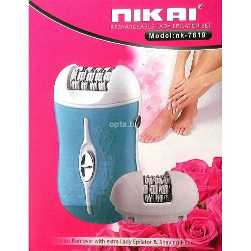Эпилятор NIkai nk-7619, 2 в 1
