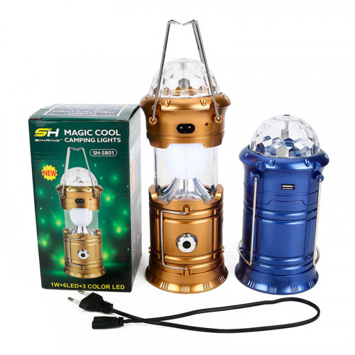 Кемпинговый светильник-фонарь MAGIC COOL CAMPING LIGHTS JH-5885 СРЕДНИЙ