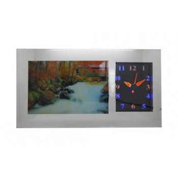 Картина-механические часы с подсветкой, звуком