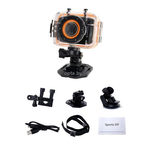 Цифровая мини камера с водонепроницаемым чехлом Action Camcorder