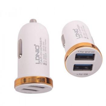 Автомобильное зарядное устройство LDNIO 2.1A