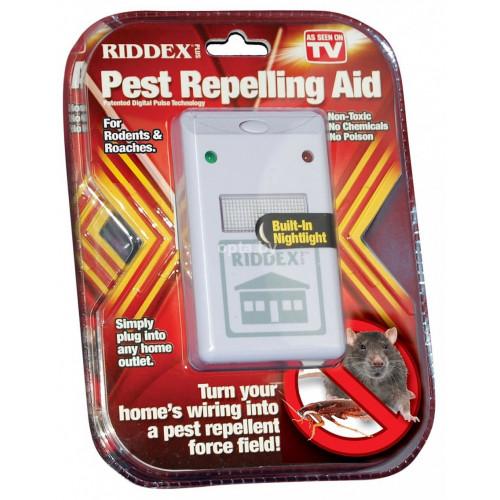Отпугиватель грызунов и насекомых Riddex Pest Repeller Aid